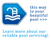 Reliable pool servicing from Alison Pools, LLC.